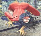 Marvel é acusada de machismo por capa de Mulher-Aranha Reprodução/Marvel/