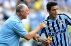 """Felipão vê evolução no Grêmio e pede atenção: """"Não podemos ter calma"""" Bruno Alencastro/Agencia RBS"""