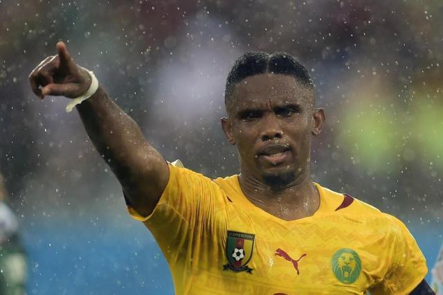 Antalyaspor suspende Eto'o após alegações de racismo PIERRE-PHILIPPE MARCOU/AFP/AFP