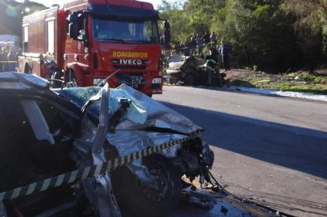 Homem morre e cinco ficam feridos em acidente na BR-392 (Marcelo Marques/Farrapo/Especial)