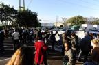 Protesto pelo direito à moradia bloqueia trânsito na Assis Brasil Ronaldo Bernardi/Agencia RBS