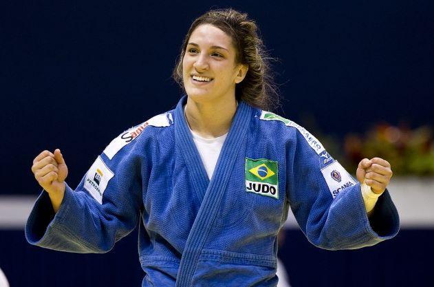 Gaúcha Mayra Aguiar conquista ouro inédito no Mundial de Judô Divulgação/CBJ/