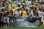 Em tarde de manifestações contra o racismo, Aranha é ovacionado no Maracanã Divulgação, Botafogo/