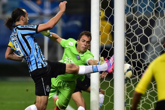 Barcos marca, Grêmio vence o Bahia e fica a quatro pontos do G-4 Mauro Vieira/Agencia RBS