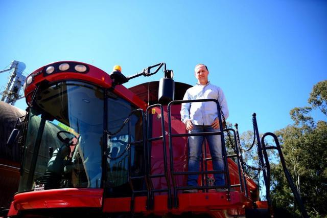 Máquinas no campo para fazer mais com menos Diogo Zanatta/Especial