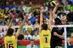 Brasil ignora pressão e bate fácil a Alemanha na estreia pelo Mundial  Divulgação/FIVB