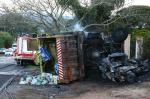 Acidente com sete veículos deixa um morto em Porto Alegre