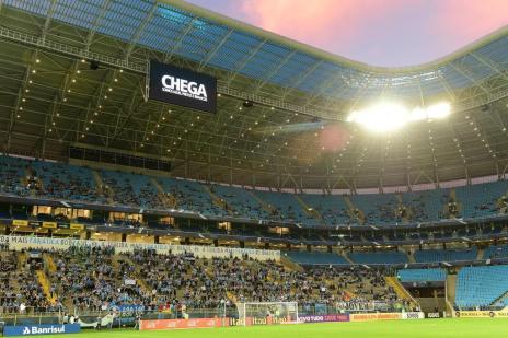 Atos racistas levam Grêmio a suspender atividades da Geral (Fernando Gomes/Agencia RBS)