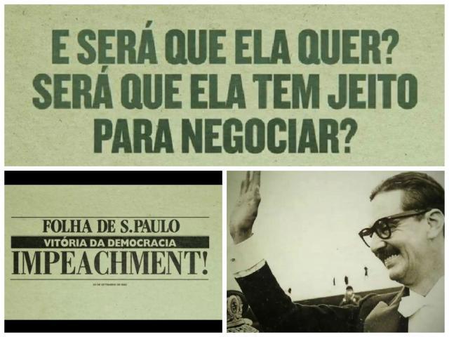 Dilma compara Marina a Jânio e a Collor na propaganda política Reprodução/
