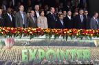 Discursos e desfile de campeões marcam abertura oficial da Expointer 2014 FERNANDO GOMES/Agencia RBS