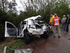 Acidente deixa uma pessoa morta em Cachoeira do Sul Marcelo Marques/Divulgação