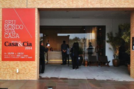 Mostra Casa&Cia 2014 é inaugurada no Passeio Pedra Branca, em Palhoça (Felipe Carneiro/Agencia RBS)