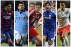 Liga dos Campeões começa nesta terça. Conheça os 32 times que disputam o título Montagem sobre fotos/AFP