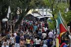 Estruturas do Acampamento Farroupilha de Porto Alegre começam a ser montadas na segunda-feira Mateus Bruxel/Agencia RBS