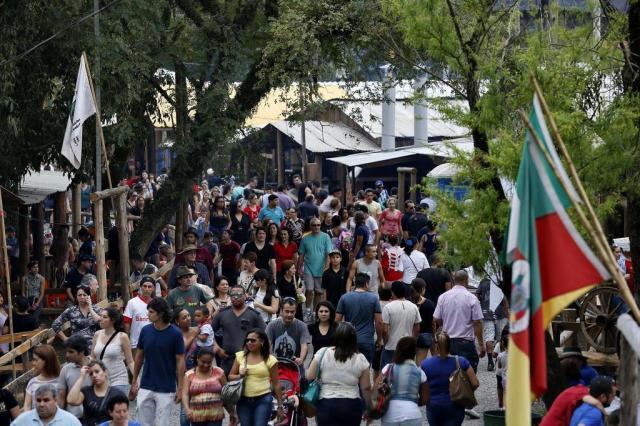 Prefeitura de Porto Alegre e MTG assinam acordo para realização do Acampamento Farroupilha Mateus Bruxel/Agencia RBS