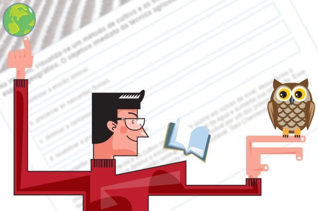 Quiz: teste seus conhecimentos para a prova de Ciências Humanas do Enem Editoria de arte/