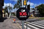 Ação usa números fictícios de acidentes para alertar para perigos no trânsito Thomaz Ballverdú/Divulgação