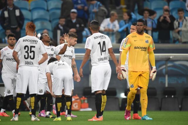 """""""Esperava ser recebido de outra maneira"""", diz Aranha após empate na Arena Diego Vara/Agencia RBS"""