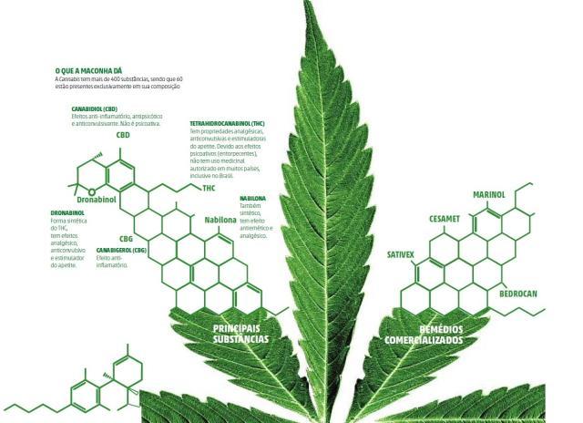 Justiça autoriza importação de componente da maconha para fins medicinais e pesquisa Arte DC/Agência RBS