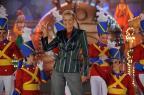 Com novas paquitas, Xuxa grava para o Globo de Ouro (Blad Meneghel/TV Globo/Divulgação)