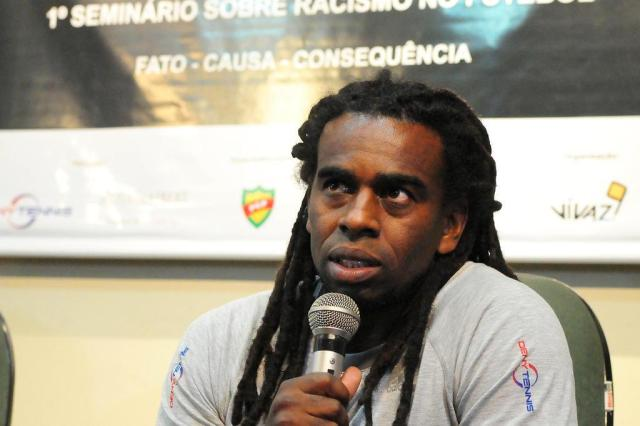 Tinga diz que Arena perdeu chance de se solidarizar com Aranha Marcelo Campos/Divulgação