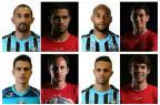 Duelo pelo G-4: comentaristas analisam Grêmio e São Paulo jogador por jogador Montagem sobre fotos de divulgação/