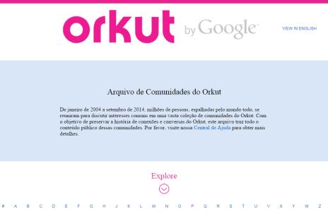 Veja como foi a repercussão no Twitter sobre o fim do Orkut (Orkut/Reprodução)
