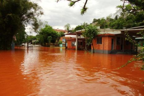 Transporte por balsas segue suspenso no Rio Uruguai  (Vilson Winkler/Arquivo Pessoal)