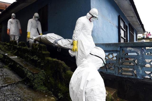 Primeiro caso de ebola é diagnosticado nos Estados Unidos PASCAL GUYOT/AFP