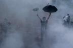 Ativistas chineses são presos por apoio às manifestações em Hong Kong XAUME OLLEROS/AFP