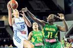 Brasil cai para a França e é eliminado nas oitavas do Mundial de Basquete Ozan Kose/APF