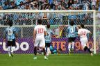 Com 46 mil na Arena, Grêmio perde por 1 a 0 para o São Paulo  Ricardo Duarte/Agencia RBS