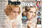 Taylor Swift recria capa icônica dos anos 1970  Divulgação/