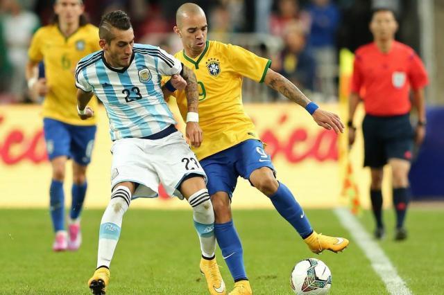 Brasil vence a Argentina em Pequim, na China HEULER ANDREY/Mowa Press
