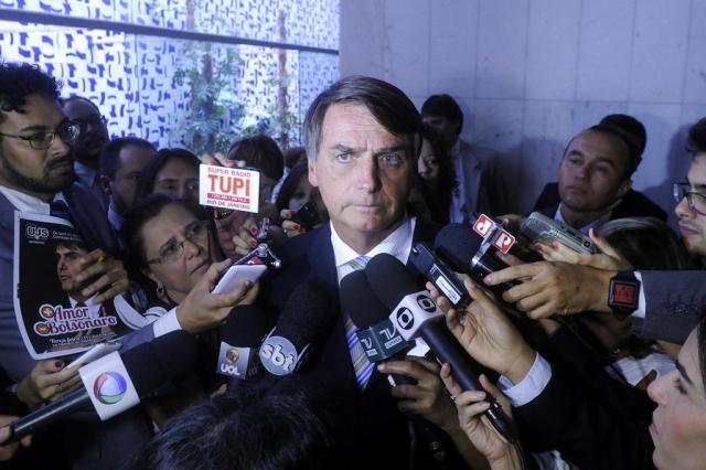 """""""Pode escrever: serei opção para candidato à Presidência em 2018"""", diz Jair Bolsonaro (PP)  Gustavo Lima/Câmara dos Deputados,Divulgação"""