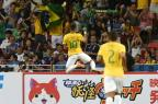 "Imprensa internacional destaca ""pôquer"" de Neymar pelo Brasil  Roslan Rahman/AFP"