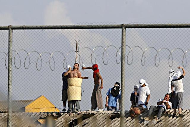 Rebelião em penitenciária do Paraná termina após 46 horas JOSUé TEIXEIRA/AGÊNCIA DE NOTÍCIAS GAZETA DO POVO/ESTADÃO CONTEÚDO