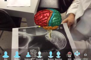 Alunos de Veterinária no UniRitter aprendem com projeções em 3D UniRitter/Divulgação