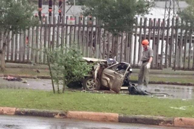 Três jovens morrem em acidente em Santa Rosa Márcio Rogério Chaves/Especial
