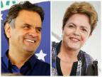 Datafolha: Dilma tem 46%, Aécio aparece com 43% Montagem sobre fotos de Marcos Fernandes e Ichiro Guerra / Divulgação/