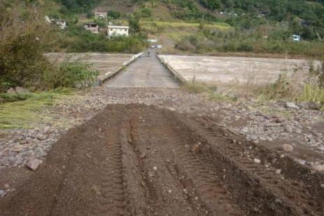 Liberado tráfego na ponte entre Cotiporã e Bento Gonçalves (Prefeitura de Cotiporã  / Divulgação/)