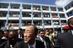 ONU pede fim de ações unilaterais a Israel e palestinos MOHAMMED ABED/AFP