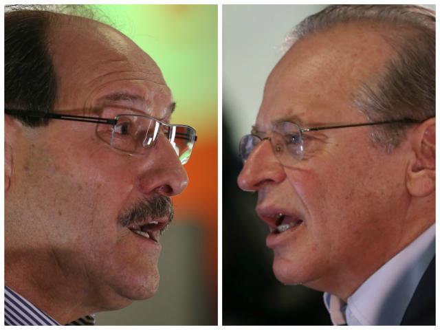 Datafolha: Sartori lidera com 53%, Tarso aparece com 36% dos votos totais (Montagem sobre fotos de Fernando Gomes / Agência RBS/)