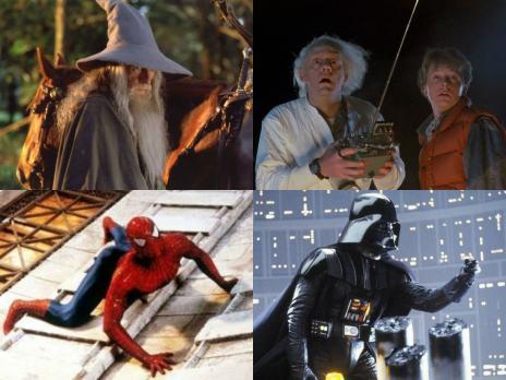 10 filmes que fazem sucesso entre os nerds (Montagem/Divulgação)