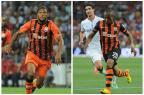 Dunga poupa clubes brasileiros, e chama Luiz Adriano e Douglas Costa Montagem sobre fotosDivulgação/