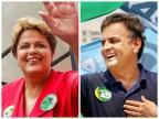 Istoé/Sensus: Aécio tem 52,1% e Dilma, 47,9% (Montagem sobre fotos de Ichiro Guerra e Marcos Fernandes / Divulgação/)