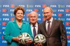 Blatter elogia organização da Copa na Rússia: 'Mais avançada que o Brasil' (Roberto Stuckert Filho/PR,Divulgação)