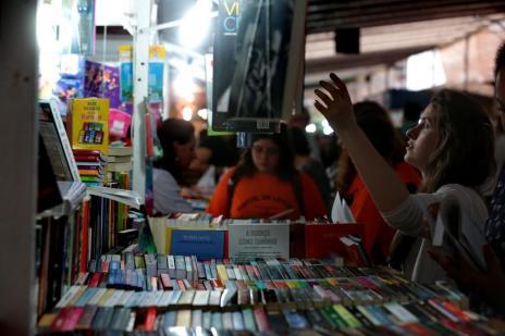 Calor e movimento ainda incipiente marcaram abertura da 60ª Feira do Livro de Porto Alegre (Ricardo Duarte/Agencia RBS)