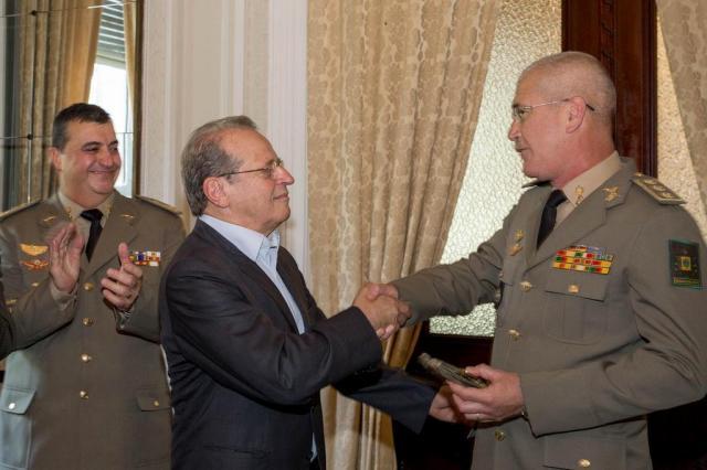 Brigada Militar tem novo comandante-geral  Caroline Bicocchi/Palácio Piratini