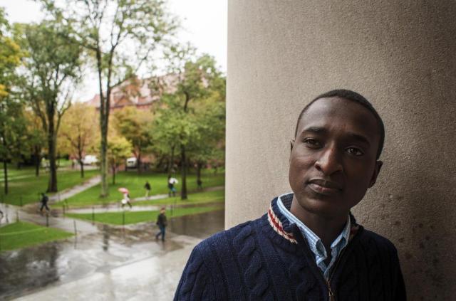 Jovem de Ruanda entra em Harvard Ian Thomas Jansen-Lonnquist/NYTNS